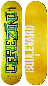 Blvd Skateboards Transit Cerezini Deck