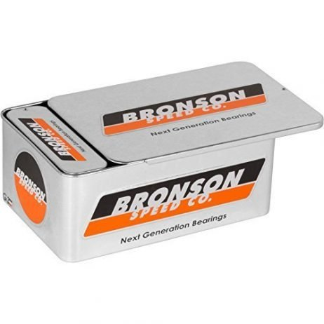 Bronson G3 Bearings 10/Pack Tin with Spacers+Washers