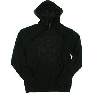 Primitive Skateboarding Autobots Black Hooded Sweatshirt - X-Large