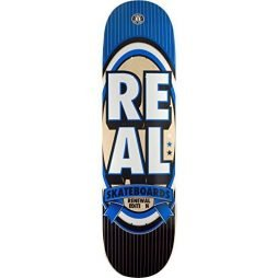 "Real Skateboards Renewal Stack XXL Blue Skateboard Deck - 8.5"" x 32.18"""