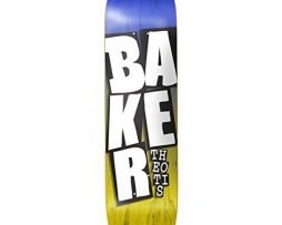 "Baker Skateboards Theotis Beasley Stacked Blue / Yellow Skateboard Deck - 8.38"" x 32"""