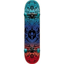 Darkstar Skateboards Convolute Red / Blue Complete Skateboard – 7.5″ x 31″
