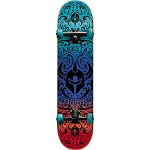 "Darkstar Skateboards Convolute Red / Blue Complete Skateboard - 7.5"" x 31"""