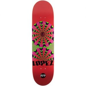 Flip P2 Optical Louie Lopez Deck Red - 8.25""
