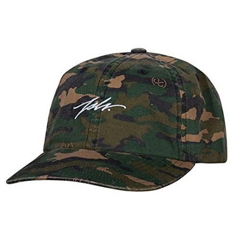 JSLV Camo Polo Strap Back Hat