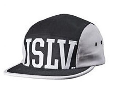 JSLV Fun 5 Panel Hat Black/Gray