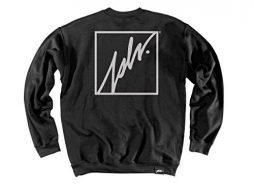 JSLV Geezer 3 Crew-Neck Fleece Sweatshirt Black