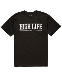 JSLV High Life 2 Mens T-Shirt, Black, Small