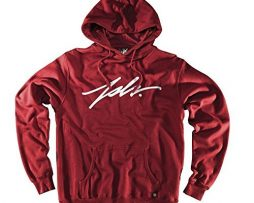JSLV Signature Pullover Hoodie Sweatshirt Cardinal Red Men's XL