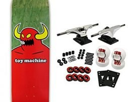 TOY MACHINE Pro Skateboard Complete MONSTER XL (assorted veneers) 8.5""