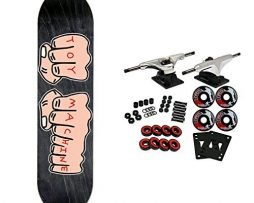 "TOY MACHINE Skateboard Complete FISTS LG 8.25"" (ASSORTED COLORS)"