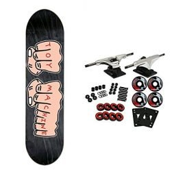 """Toy Machine Skateboard Complete Fists LG 8.25"""" (Assorted Colors)"""
