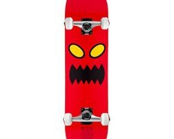 "TOY MACHINE Skateboard Complete MONSTER FACE 8.0"" Raw Assembled"