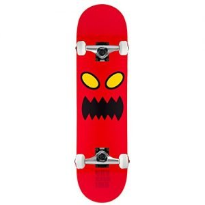 """TOY MACHINE Skateboard Complete MONSTER FACE 8.0"""" Raw Assembled"""