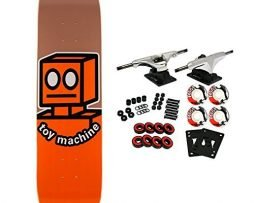 TOY MACHINE Skateboard Complete OG ROBOT 8.0""