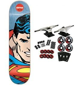 ALMOST Skateboard Complete SUPERHERO SPLITFACE RODNEY MULLEN 8.125″ Resin 7