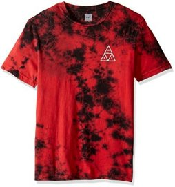 HUF Men's Crystal Wash Trip Triangle Tee