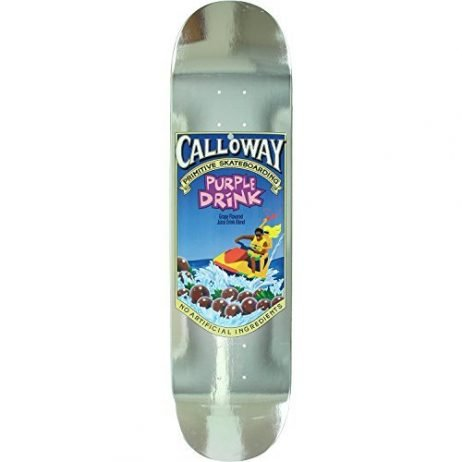 Primitive Calloway Capri Skateboard Deck -8.0 DECK ONLY