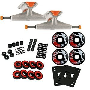 TENSOR Mids SKATEBOARD TRUCKS, Wheels, ABEC 7 Bearings