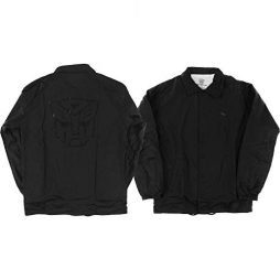 Primitive Skateboarding Autobots Black Coaches Jacket – Large
