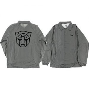 Primitive Skateboarding Autobots Grey Coaches Jacket - X-Large