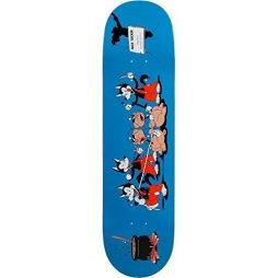 Primitive Skateboarding Nick Tucker 3 Wolves Skateboard Deck – 8.12″ x 31.75″