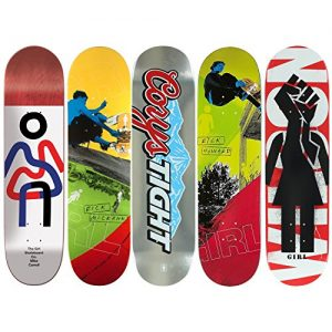 5 Girl Skateboard Deck Decks 8.125 8.375 8.5 Bulk Lot