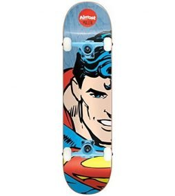 "ALMOST Skateboard SPLITFACE RODNEY MULLEN 8.125"" SUPERMAN Tensor Assembled"