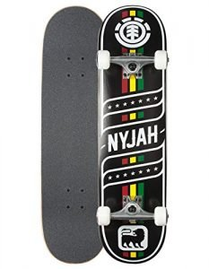 ELEMENT Nyjah Sonic Full Complete Skateboard, Multi