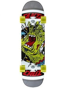 "Santa Cruz Rob Hand Cruzer Complete Skateboard, Assorted, 31.85in"" L x 8.5in"" W"