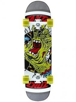 Santa Cruz Rob Hand Cruzer Complete Skateboard,Multicolored,8.5in L x 31.85in W