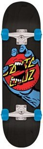 "Santa Cruz Skateboards Hand Dot Micro Sk8 Skateboard, 6.75"" x 28.5"", Multicolor"