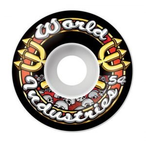 World Industries Skull Team Logo Skateboard Wheels