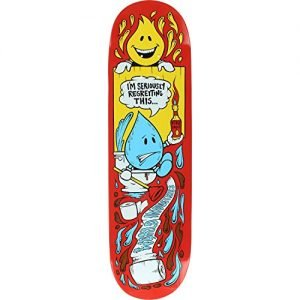 World Industries Wet Willy Regrets Deck -8.3 Assembled as COMPLETE Skateboard