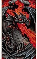Dark Star 10512203 Dragon Skateboard, Red, Size 7.625