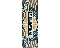"Darkstar Skateboards Harley Davidson Freedom Skateboard Deck - 7.87"" x 31.7"""
