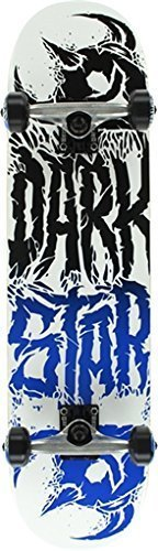 Darkstar Skateboards Reverse Black / Blue Complete Skateboard – 7.8″ x 31.5″