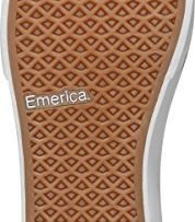 Emerica Men's Provost Slim Vulc Skateboarding Shoe, Burgundy, 7.5 M US