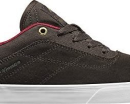 Emerica Men's The Herman G6 Vulc Brown/White Athletic Shoe