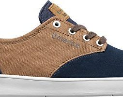 Emerica Men's The Romero Laced Navy/Brown/White Athletic Shoe