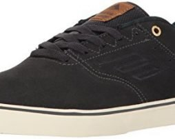 Emerica Men's the Reynolds Low Vulc Skate Shoe, dark grey, 10.5 Medium US