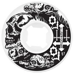OJ Wheels Fletcher Hellfire 101a Skateboard Wheel, 57mm