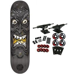 SANTA CRUZ Skateboard Complete ROB FACE BLACK 8.5""