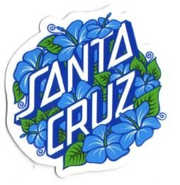 Santa Cruz Skateboard / Surf Sticker - surfing skating sk8 skate board new
