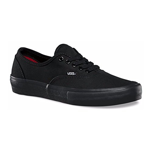 Vans Authentic Pro Black/Black Men's Skate Shoes 9.5 D(M ...