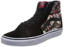 Vans Sk8-Hi Labels Ankle-High Canvas Skateboarding Shoe