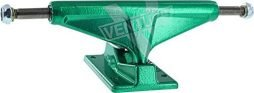 "Venture Trucks Monochrome Marquee Team High Anodized Green Skateboard Trucks - 5.25"" Hanger 8"" Axle (Set of 2)"