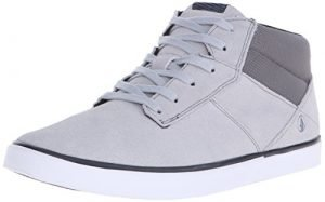 Volcom Men's Grimm Mid 2 Fashion Sneaker, Cool Grey, 9 C/D US