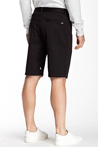 Volcom Mens Vmonty Modern Fit Short (36, Black)