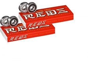 Bones Super Reds Bearings, 8 Pack set (2 x 8 Pack)